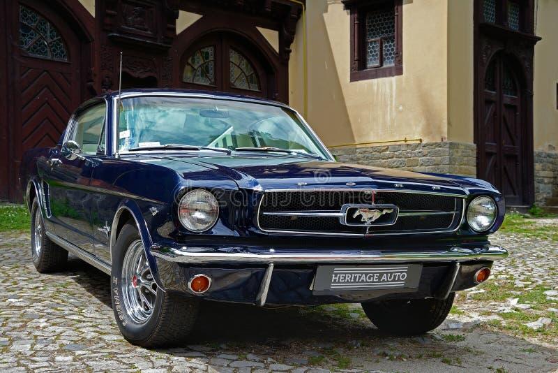 Ford Mustang 1965 fotografia stock libera da diritti