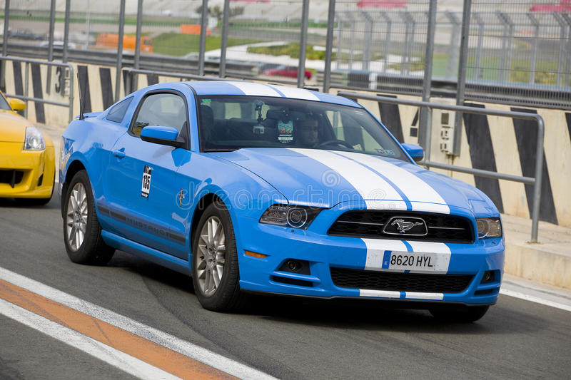 Ford Mustang 2013 stock foto