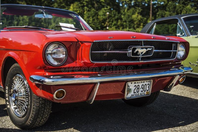 Ford Mustang foto de archivo libre de regalías