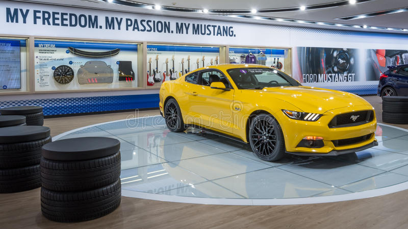Ford Mustang 2016 arkivbilder