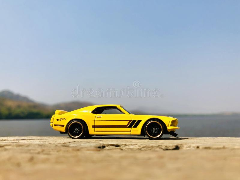 Ford Mustang Boss 302 royalty free stock photography