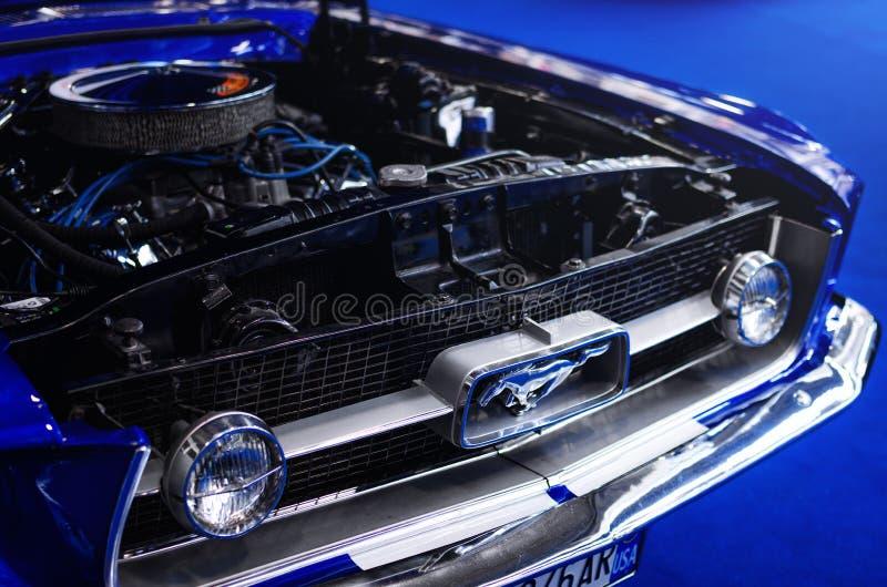 Ford Mustang Classic Car royaltyfria bilder