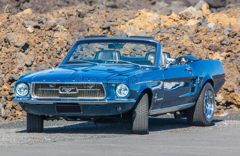 1967 Ford Mustang stock photo