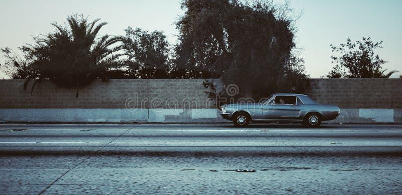 Ford Mustang giù là a Los Angeles fotografia stock