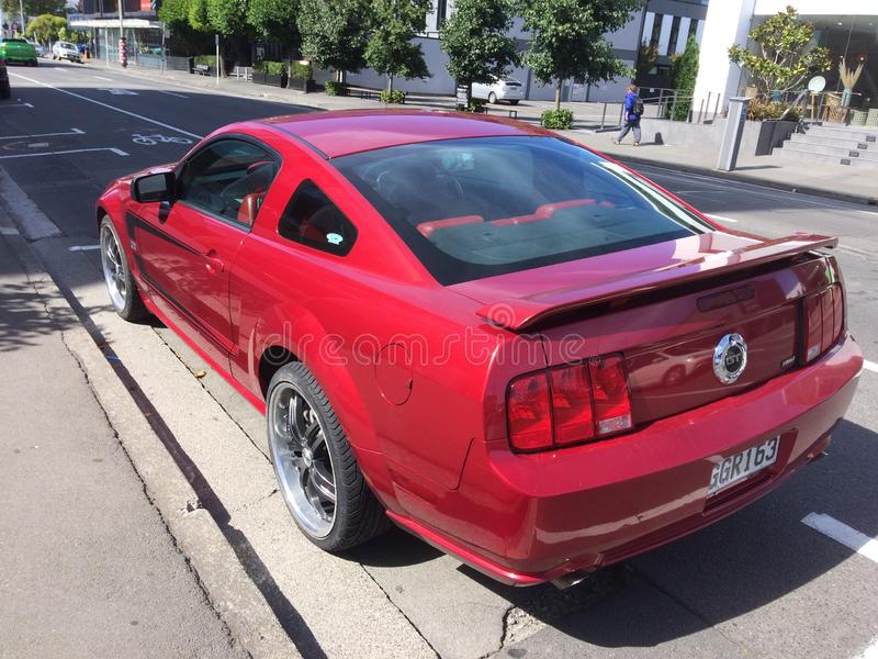 Ford Mustang GT 2005年福特 免版税库存图片