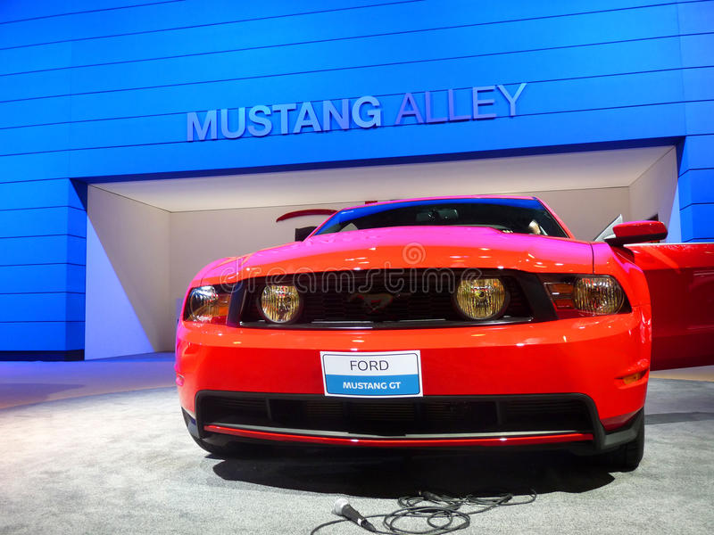 Ford Mustang GT royalty free stock photography