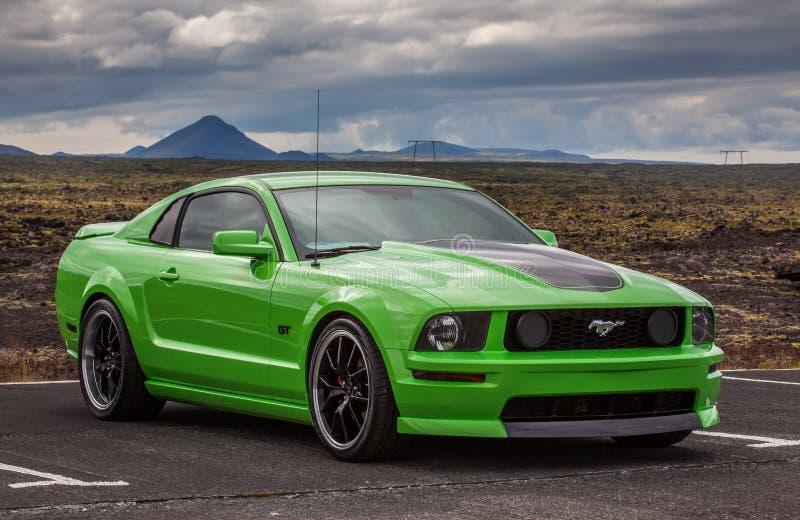 Ford Mustang 2006 GT fotografia de stock