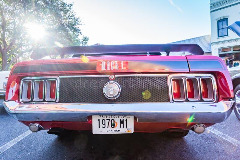 Ford Mustang Mach 1970 1 arkivfoton