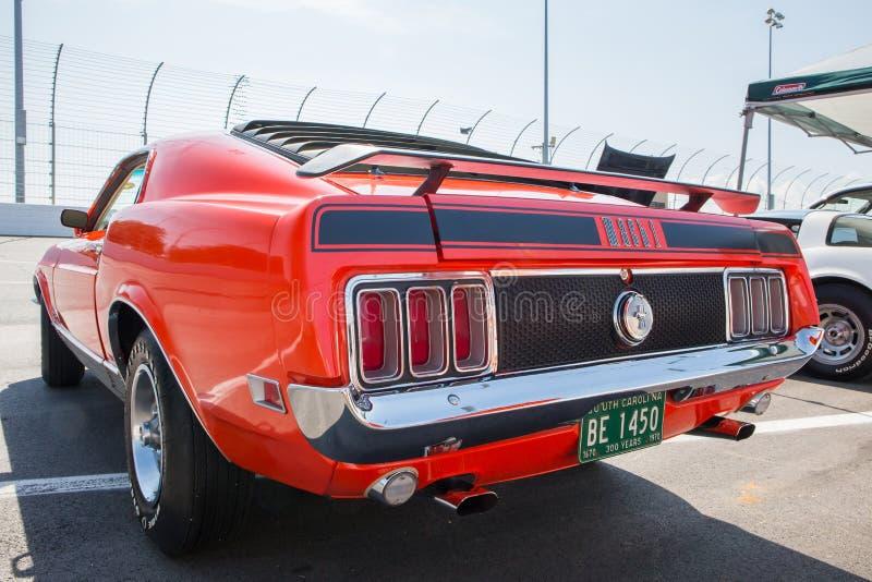 Ford Mustang Mach 1970 1 royaltyfria foton