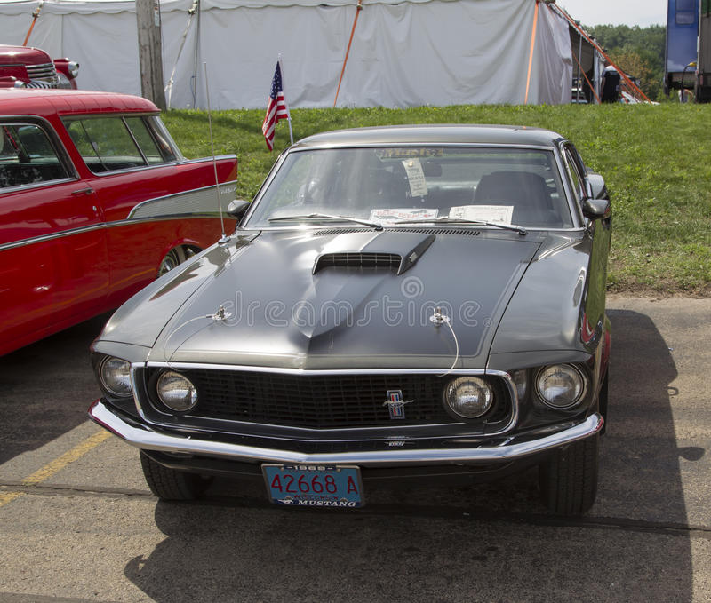 Ford Mustang Mach 1969 1 fotografering för bildbyråer
