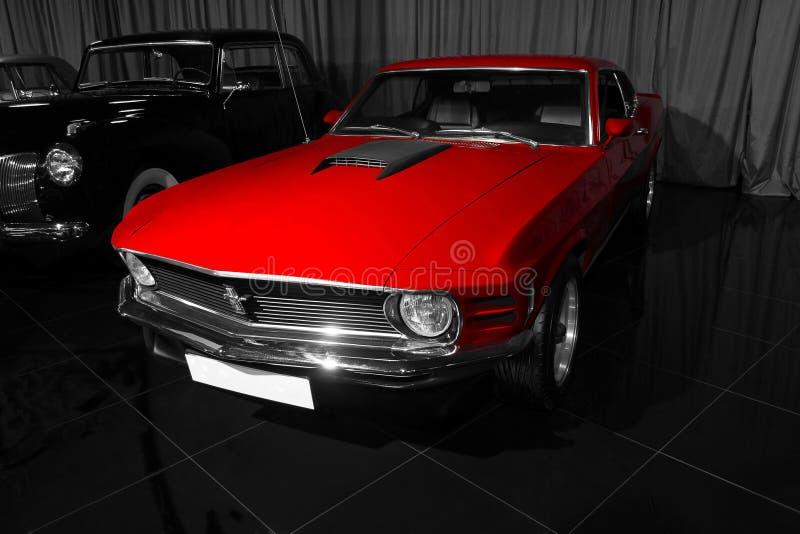 Ford Mustang Mach 1970 1 fotografering för bildbyråer