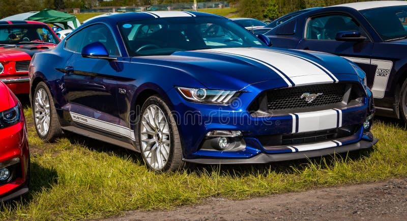 Ford Mustang Muscle-Auto lizenzfreies stockbild