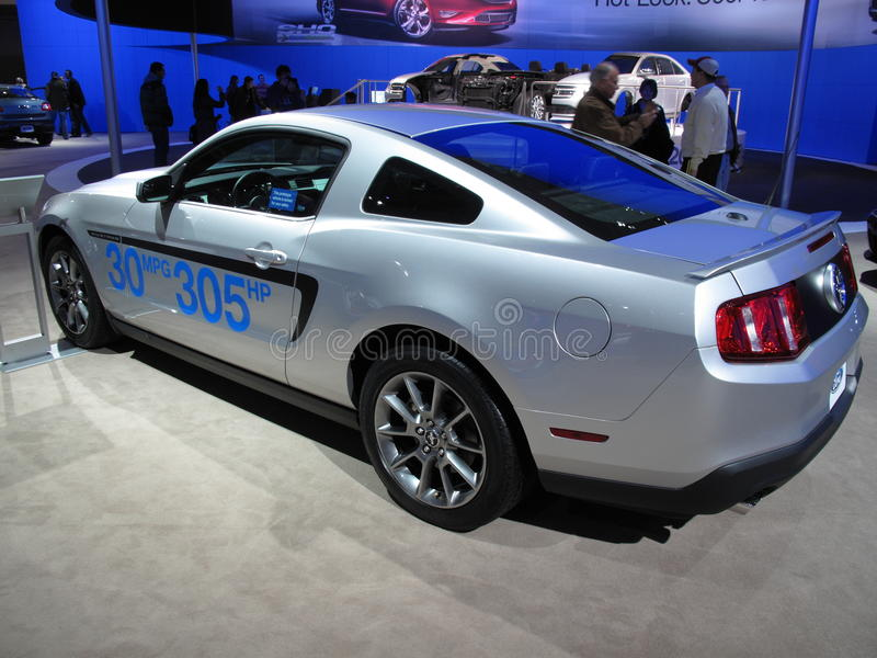 Download Ford Mustang Prototype Editorial Stock Photo - Image: 12816758