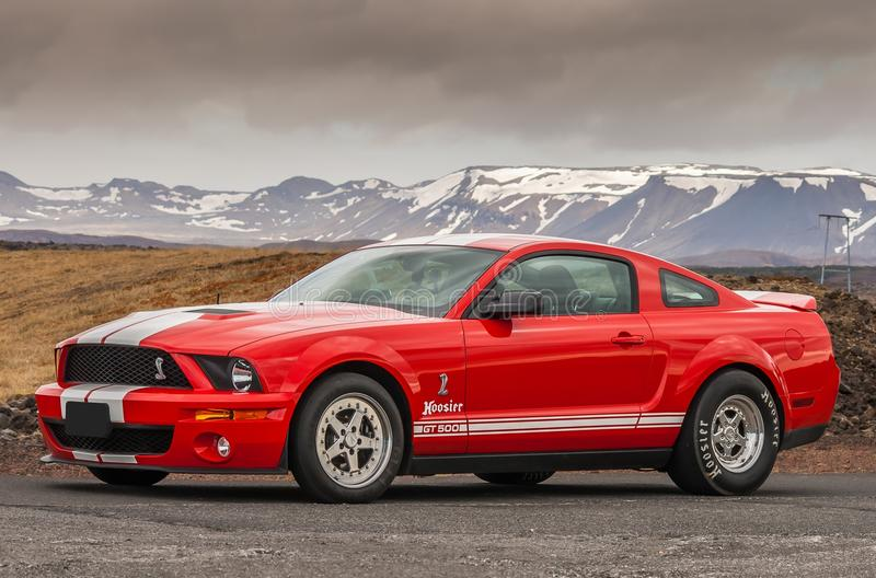 Ford Mustang Shelby 2007 GT 500 stockbild
