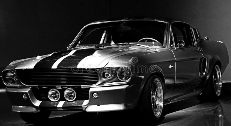 Ford Mustang Shelby 1967 GT 500 image stock