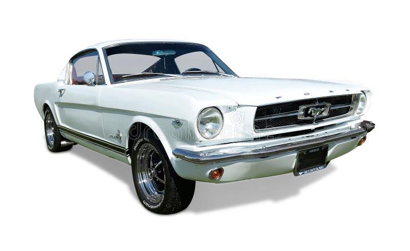 Ford-MustangFastback 1965 lizenzfreie stockfotografie