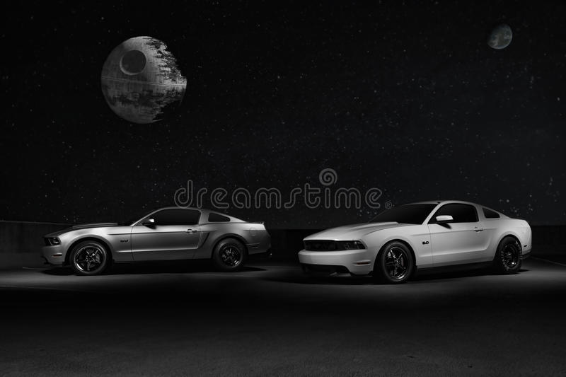 Ford Mustangs lizenzfreies stockbild