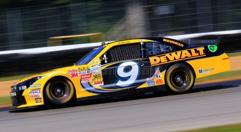 Ford NASCAR springa arkivfoton