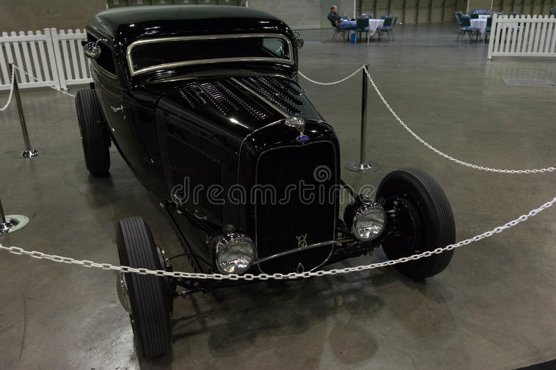 Ford 3 okno rolownika Coupe obrazy stock
