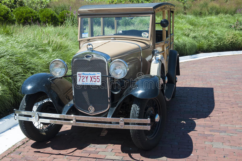 Ford antique car stock image
