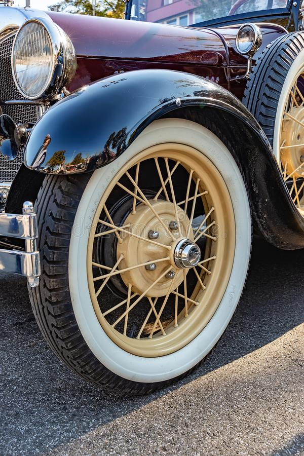 Ford Phaeton, που χτίζεται στο έτος 1928 στοκ φωτογραφίες με δικαίωμα ελεύθερης χρήσης