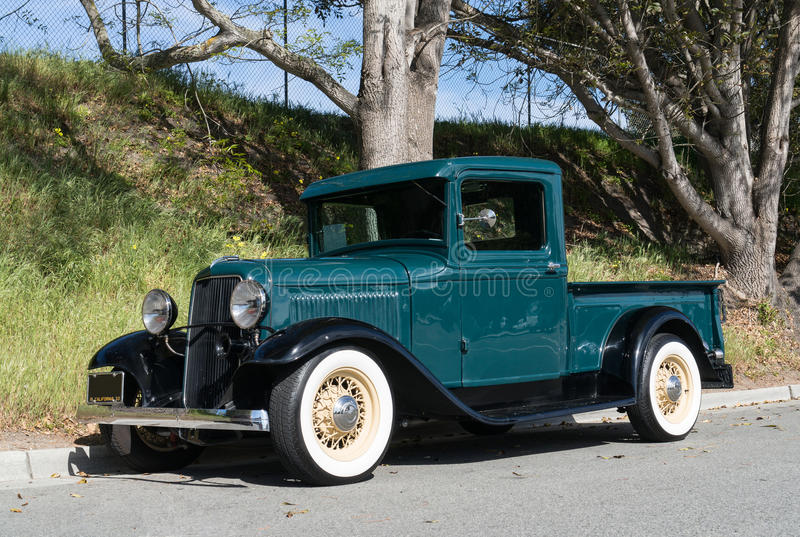 1933 Ford pickup truck. Classic 1933 Ford pickup truck stock image