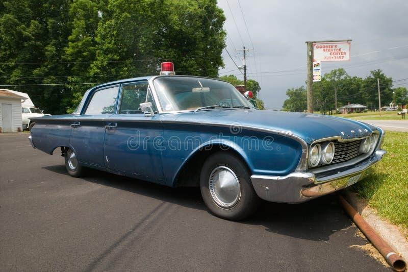 Ford-Polizeiwagen 1960 lizenzfreies stockfoto
