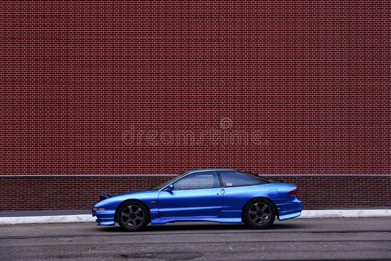 Ford Probe Blue stockbilder