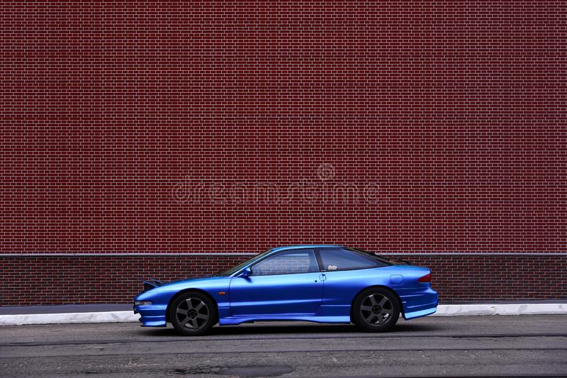 Ford Probe Blue stock afbeeldingen