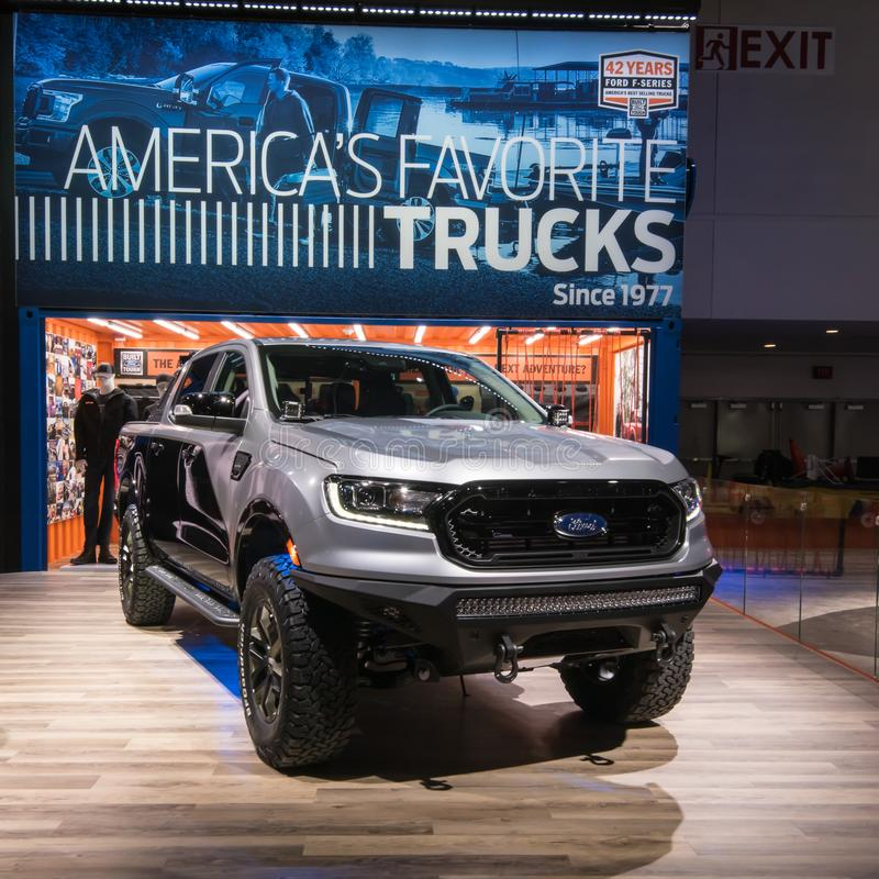 Ford Ranger 2019 photographie stock