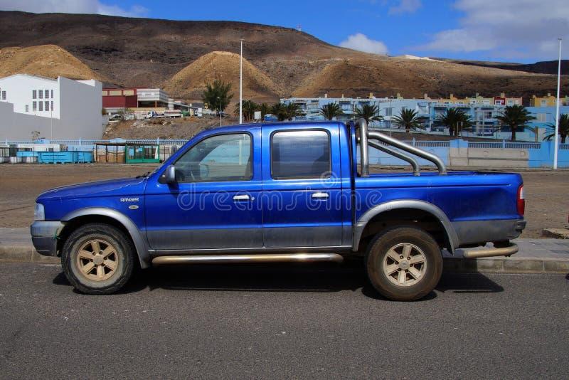 Ford Ranger bleu photo stock