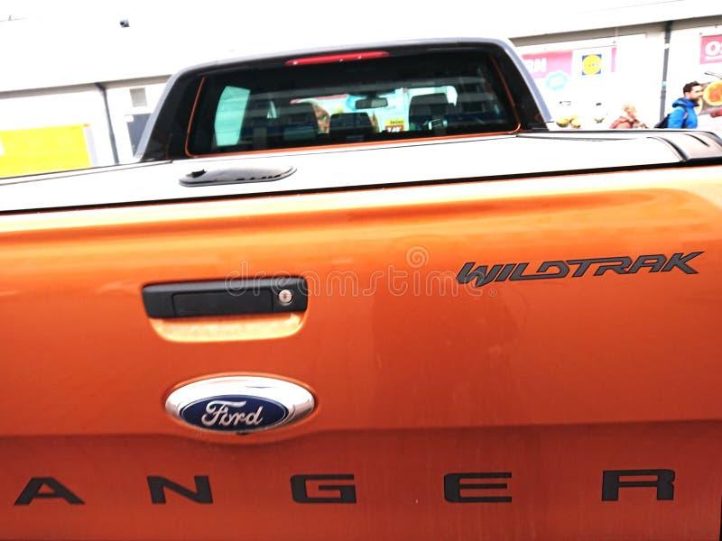 Ford Ranger Wildtrak photographie stock libre de droits