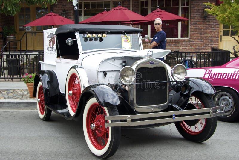 Ford 1928 A Roadster Pickup Truck di modello fotografia stock libera da diritti