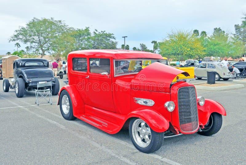 Ford Sedan batido fotografia de stock royalty free