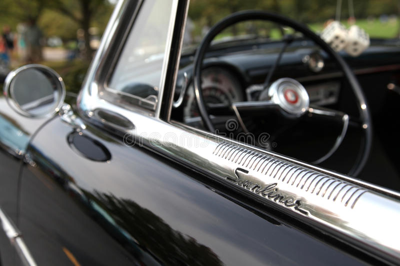 Ford Sunliner royalty free stock photos