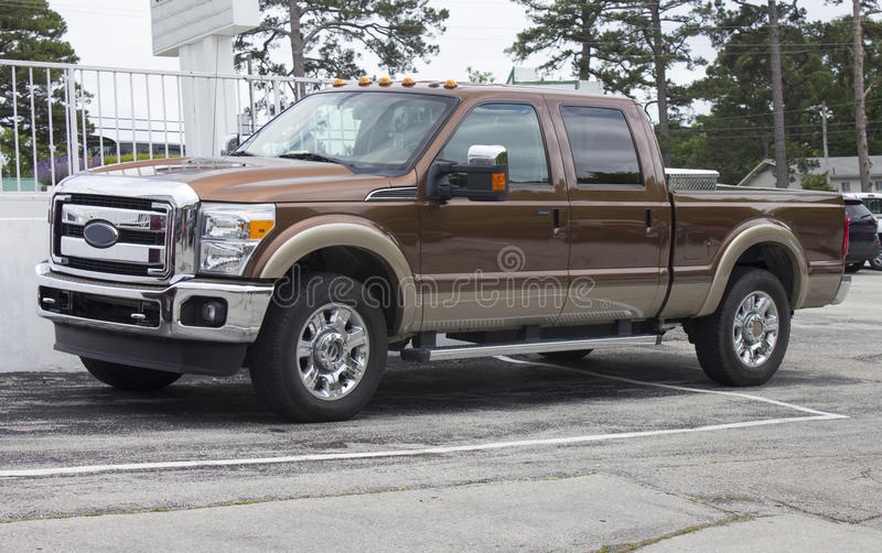 2015 Ford Super Duty Truck royalty free stock photos