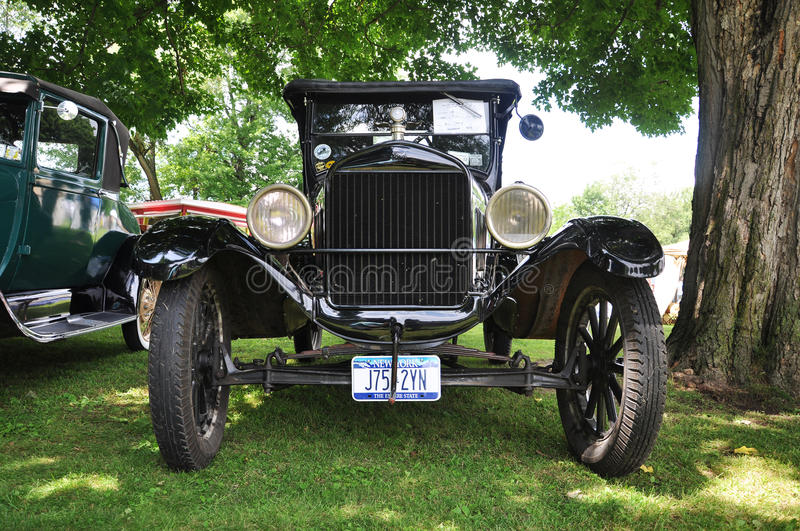 Download Ford T in Antique Car Show editorial stock image. Image of automobiles - 15259974