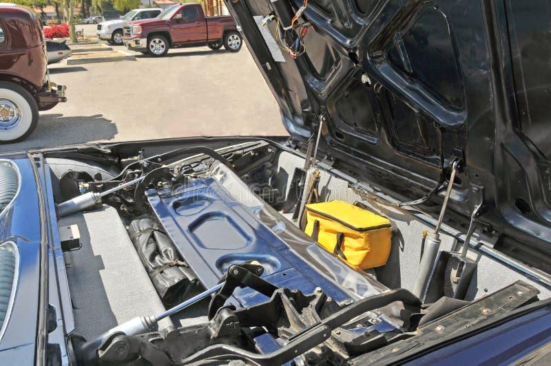 Ford Thunderbird可撤回的顶面机制 库存照片