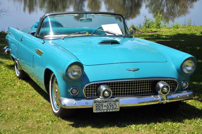 Ford Thunderbird 1956 arkivfoto