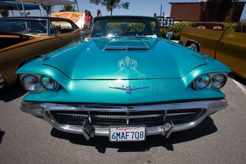 1959 Ford Thunderbird Custom Pinstripping stock photos