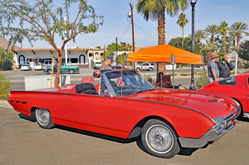 Ford Thunderbird kabriolet fotografia royalty free