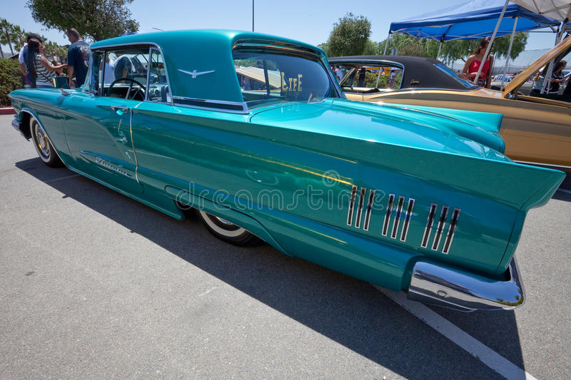 1959 Ford Thunderbird Classic Car royalty free stock images
