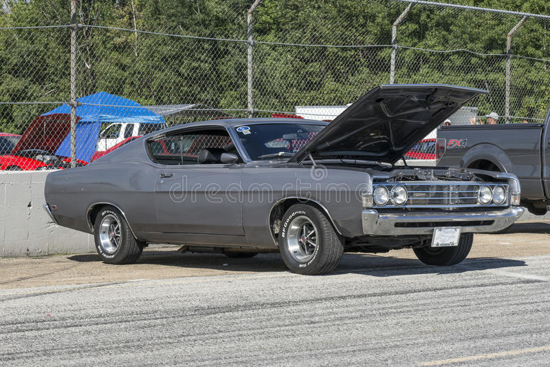 Ford torino stock photo