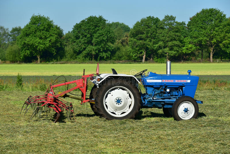 Ford Tractor royaltyfria bilder