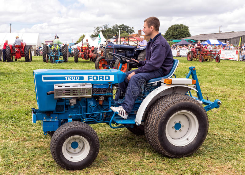 Ford 1200 Tractor royalty-vrije stock afbeelding