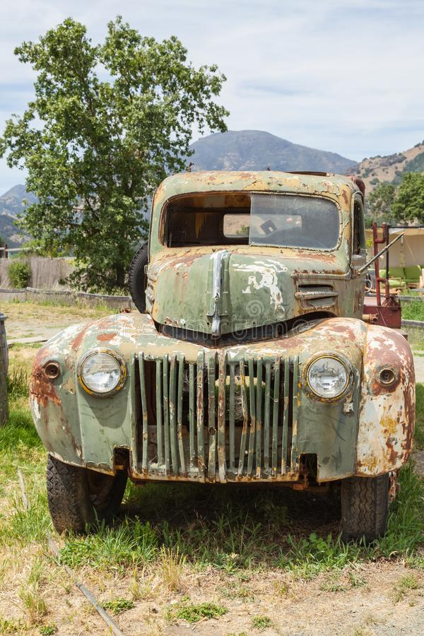 1947 Ford Truck: Workhorse of Yesteryears stock image