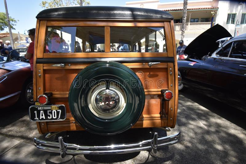 1946 Ford Woodie Stationwagon, 4 imagens de stock