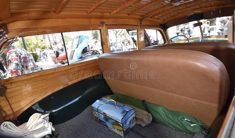 1946 Ford Woodie Stationwagon, 2 lizenzfreie stockbilder