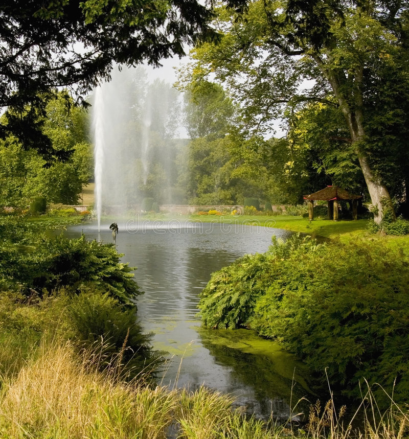 Forde abbey estate dorset england royalty free stock images