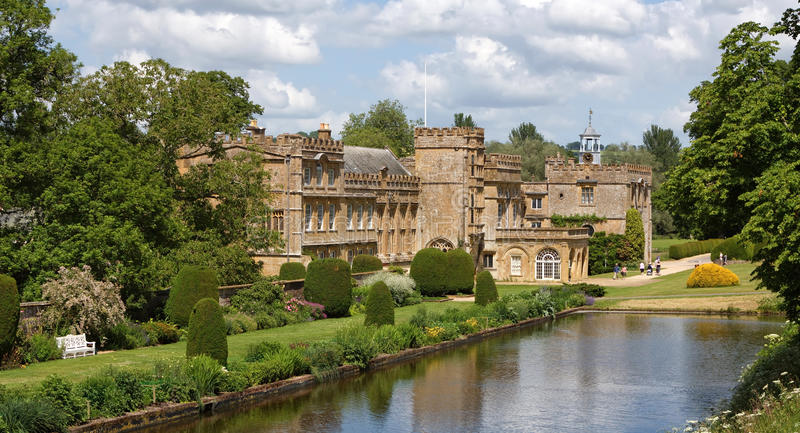 Forde Abbey royalty free stock photography
